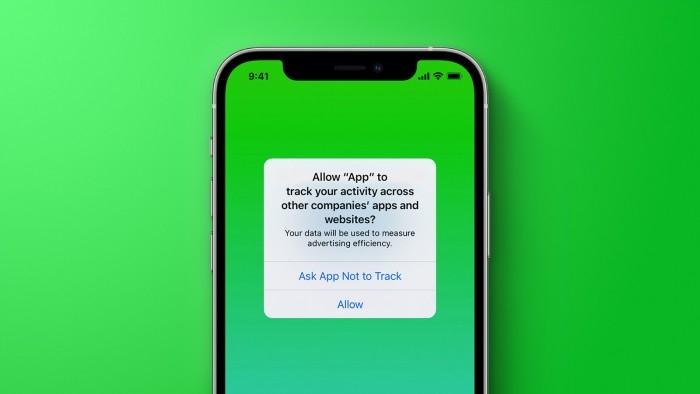 苹果将封杀奖励用户启用ATT跟踪功能的应用程序